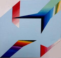 Visual objets as entities 3, Painting, Acrylic on Canvas