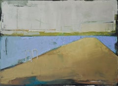 """""""Seascape 02"""" , 39.37/27.5 inches, Painting, Oil on Canvas"""