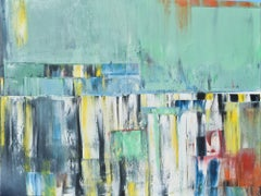 """Oil painting, """"Layer city 11"""", Painting, Oil on Canvas"""