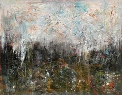 """47''x37""""( 120x95cm), Earth Song 2, Mixed Media on Canvas"""