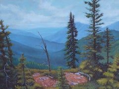 Top of the Mountain II, Painting, Oil on Canvas