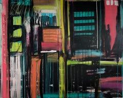 Spectrum, Mixed Media on Canvas