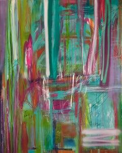 Boy, Mixed Media on Canvas