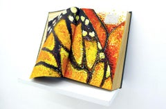 Migration, Painting, Sculpture, Butterfly, Encyclopedia, Bright Colors, Signed