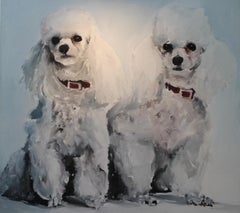 Untitled (Two Poodles)