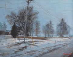Early Snow, Painting, Oil on Canvas
