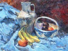 Still Life 1, Painting, Oil on Canvas