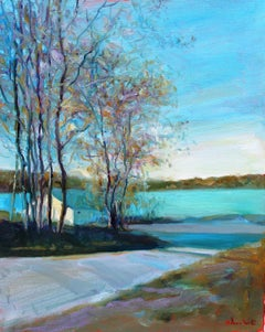 Lake of Scugog, Painting, Oil on Canvas