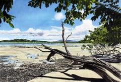 Tamarindo (Costa Rica), Painting, Watercolor on Watercolor Paper