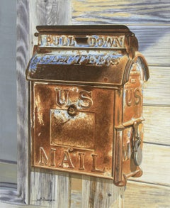 US Mail, Painting, Watercolor on Watercolor Paper