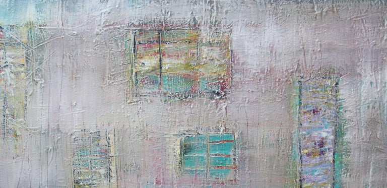 Quiet Shelter, Painting, Acrylic on Canvas For Sale 1