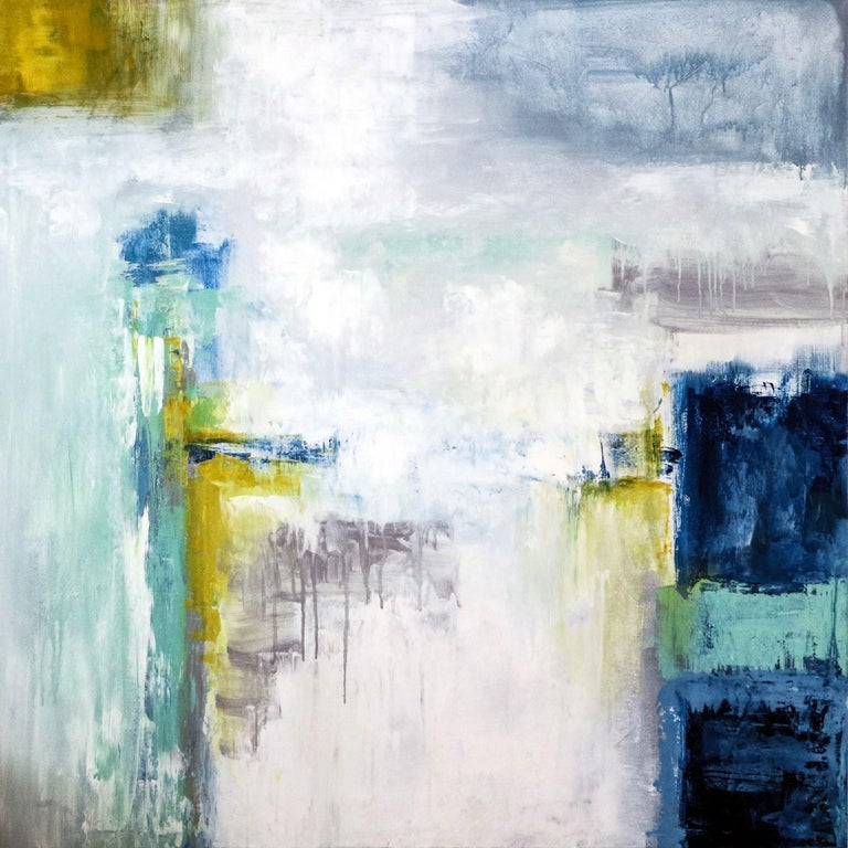 Hyunah Kim Abstract Painting - Mode, Painting, Acrylic on Canvas
