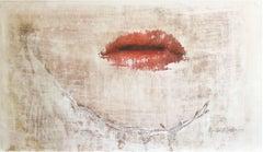 Papillon.V   edition # 1 of 1  mixed media, Mixed Media on Canvas
