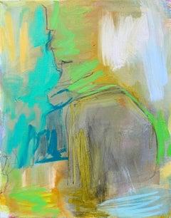 Peak Falls, Painting, Oil on Canvas