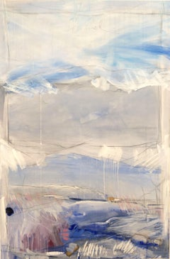 Himmel II (Sky II), Painting, Gouache on Canvas