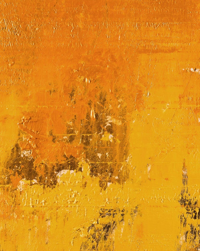 Solid Gold, Painting, Acrylic on Canvas 2