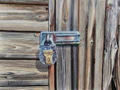 Master Lock, Painting, Watercolor on Watercolor Paper