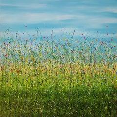 Sun Dance Meadows, Painting, Acrylic on Canvas