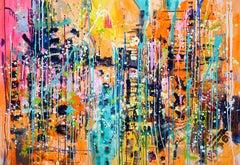 Urban Jungle, Painting, Acrylic on Canvas
