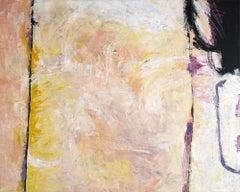 Blush field, Painting, Acrylic on Canvas