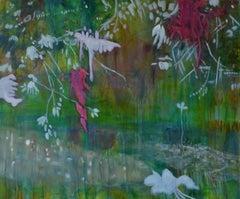 Creek, Painting, Acrylic on Canvas