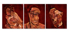 BACON TRIPTYCH, Photograph, Archival Ink Jet