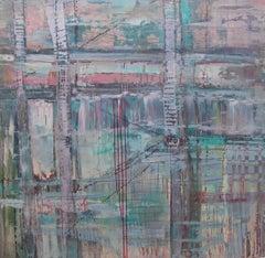 Bridge to Nowhere, Painting, Acrylic on Canvas