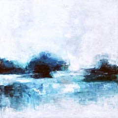 A Lake, Painting, Acrylic on Canvas