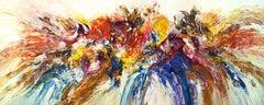 Slim: Emotional Expression 1, Painting, Acrylic on Canvas
