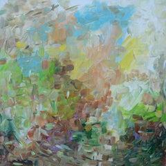 Rainfall, Painting, Acrylic on Canvas
