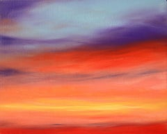 Sunset 1, Painting, Oil on Canvas