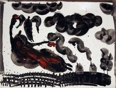 stetl, Painting, Oil on Canvas