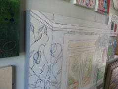 sassafras, Painting, Oil on Wood Panel