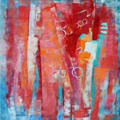 Finding Joy, Painting, Acrylic on Canvas