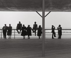 Brighton Beach Pavilion, Photograph, Archival Ink Jet