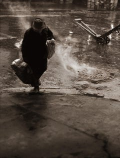 Stormy Weather, Lower W. Side, NYC, Photograph, Archival Ink Jet