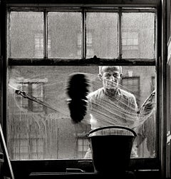Window Washer, Photograph, Archival Ink Jet