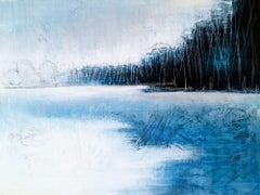 Norwegian wood, Painting, Acrylic on Canvas