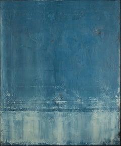 Deep Teal, Painting, Acrylic on Canvas