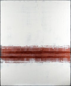Bronze Line, Painting, Acrylic on Canvas
