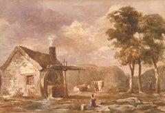 Robert Weir Allen (1851-1942) RWS RSW NEAC - 20th Century Watercolour, Farm