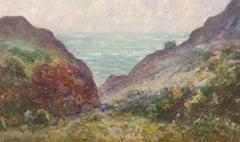 Thomas William Morley (1859-1925) - 20th Century Watercolour, Coastal Landscape