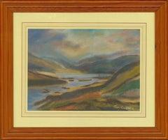 Thomas Coates - Signed 20th Century Pastel, Vibrant Landscape