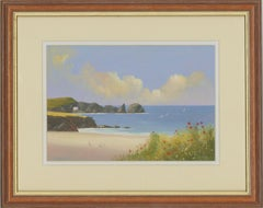 Michael J. Poole - Signed & Framed Contemporary Acrylic, Mother Ivey's Bay
