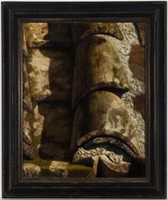 Sandro Bastioli (b.1949) - Very Fine 1999 Oil, Study of Roof Tiles