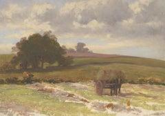 George Hamilton Constantine (1878-1967) - Oil, Horsecart