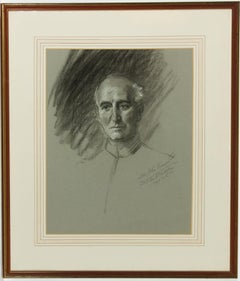 Frank Owen Salisbury (1874-1962) - Signed 1935 Charcoal Drawing, Sir John Simon