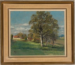 Paul Ayshford Methuen (1886-1974) RWA - Mid 20th Century Oil, Mirande Landscape