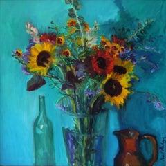 Provencal Bouquet, Painting, Oil on Canvas