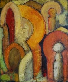 Granada, Painting, Oil on Wood Panel